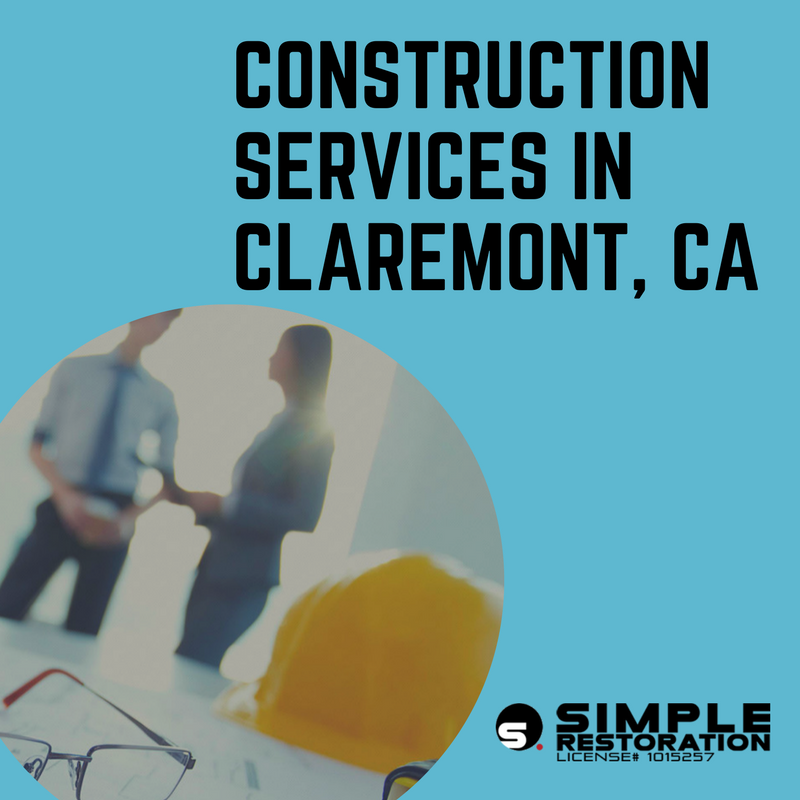 Construction in Claremont