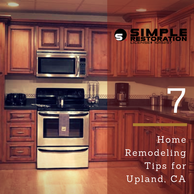 Upland home remodeling tips